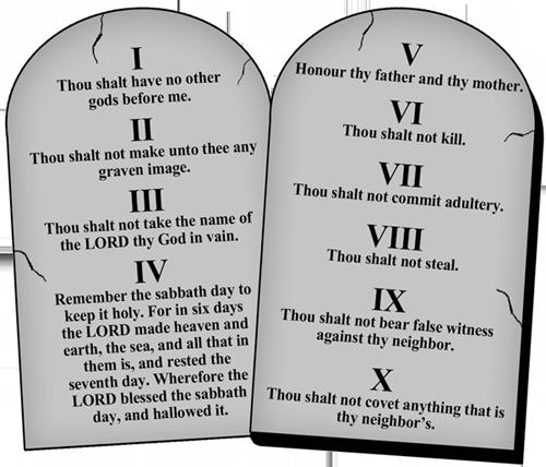 The Ten Commandments Christian | www.pixshark.com - Images ...